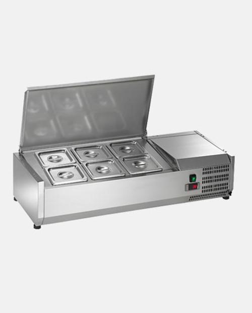 Arctic Air ACP40 6 Pan Refrigerated Counter-top Food Prep Unit