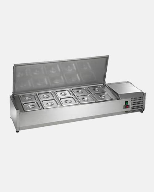 Arctic Air ACP55 10 Pan Refrigerated Counter-top Food Prep Unit