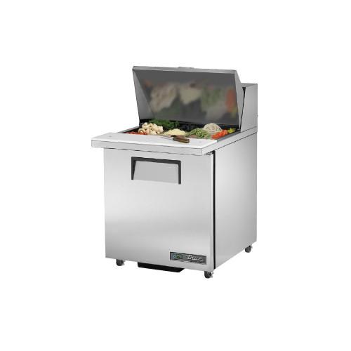 "True TSSU-27-12M-C-ADA-HC 27"" Mega Top Sandwich Salad Prep Table - ADA Compliant"