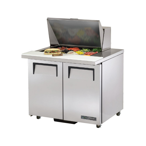 "True TSSU-36-12M-B-ADA-HC 36"" Mega Top Sandwich Salad Prep Table - ADA Compliant"
