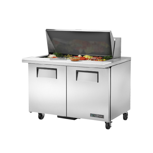 "True TSSU-48-18M-B-ADA-HC 48"" Mega Top Sandwich Salad Prep Table - ADA Compliant"