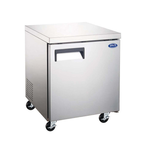 "Adcraft GRUCFZ-27 27"" Undercounter Freezer - 1 Door, 6.3 Cu. Ft."