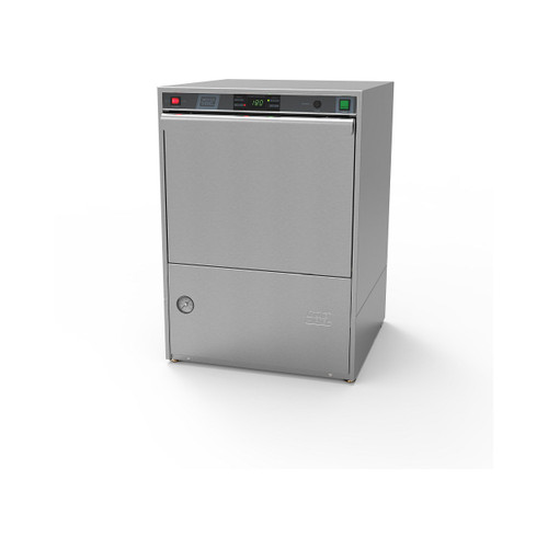 Moyer Diebel 383HT High Temperature Undercounter Dishwashing Machine with Built-in Booster Heater - 208/230v