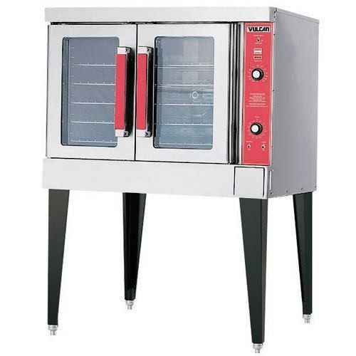 Vulcan VC4GD-21D150K 44,000 Btu Propane Gas Convection Oven, Single Deck, Solid State Controls (VC4GD-21D150K)