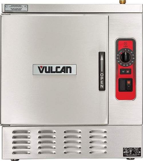 Vulcan C24EA3-1200 3 Pan Countertop 9.25kw Electric Convection Steamer w/ Professional Controls, C24EA Series (C24EA3-1200)