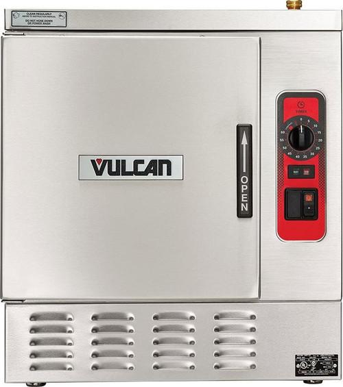 Vulcan C24EA5-1300 5 Pan Countertop 15kw Electric Convection Steamer w/ Professional Controls, C24EA Series (C24EA5-1300)