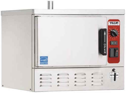 Vulcan C24EO3AF-1100 3 Pan 8kw Electric Convection Steamer w/ Auto-Fill, C24EO Series (C24EO3AF-1100)