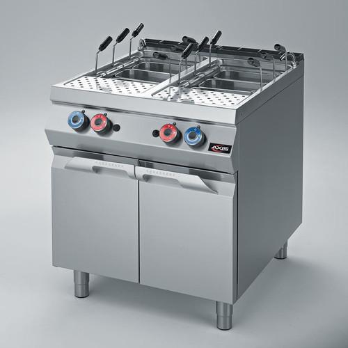 Axis AX-GPC-2 Gas Pasta Cooker - Double Tank