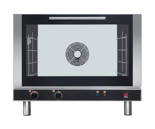 EKA EKFA 464 Electric Full Size Convection Oven, Manual Control - 4 Trays - 208/240V