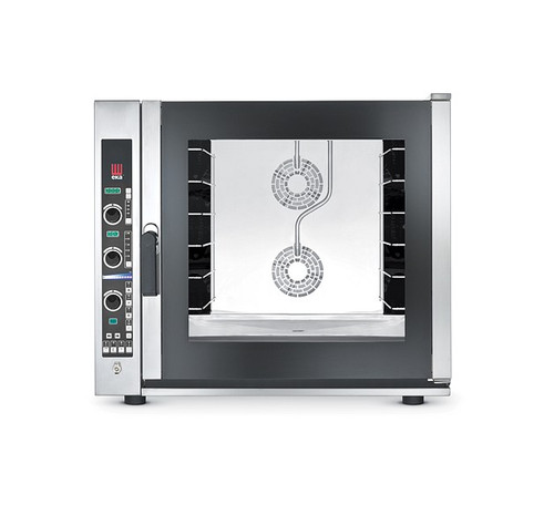 EKA EKFA 664 E UD Electric Full Size Combi Oven with Steam and Electronic Control - 6 Trays - 208/240V 3 Phase