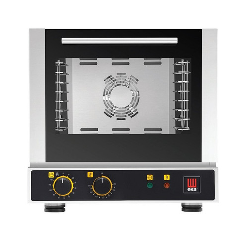 EKA EKFA 414 S Electric Quarter Size Countertop Convection Oven w/ Manual Controls - 4 Trays - 120V