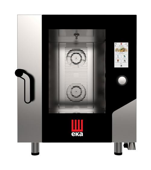 EKA MKFA 711 TS Electric Full Size Combi Oven w/ Touch Screen - 7 Trays - 208/240V 3 Phase