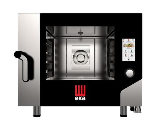 EKA MKFA 464 TS Electric Full Size Combi Oven w/ Touch Screen - 4 Trays - 208/240V