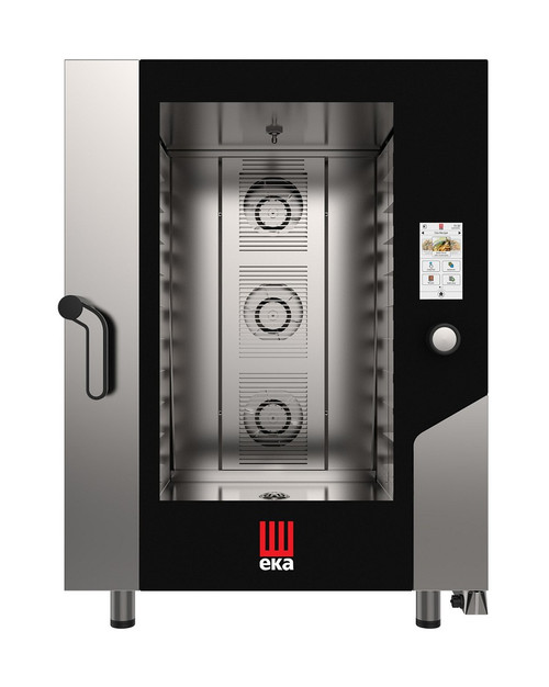 EKA MKFA 1064 TS Electric Full Size Combi Oven w/ Touch Screen - 10 Trays - 208/240V 3 Phase