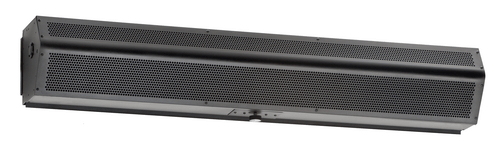"Mars LPN296-2UA-OB LoPro 2 Drive-Up Air Curtain, 96"" Wide, Obsidian Black, 115V"