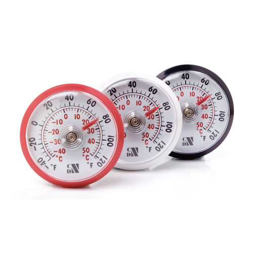 CDN AT120 Stick'M Ups Indoor / Outdoor Thermometer - Assorted Colors