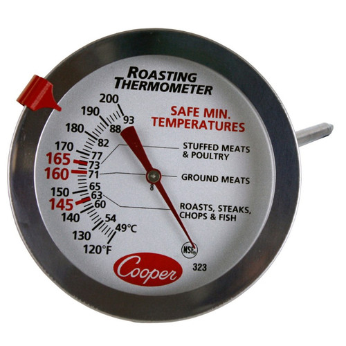Cooper-Atkins DPP800W Digital Pocket Test Thermometer with Large LCD -40//450/° F Temperature Range