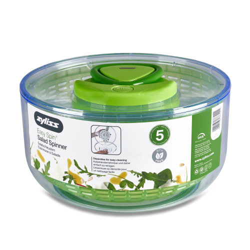 Zyliss E940001U Easy Spin Salad Spinner