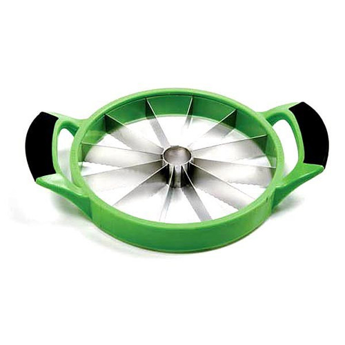 "Norpro 5112G 8"" Melon/Pineapple Cutter - Green"