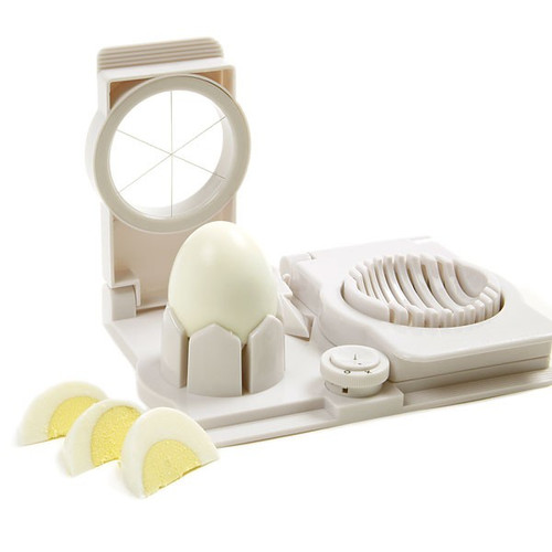 "Norpro 989 Egg Slicer/Wedger/Piercer, 7"""
