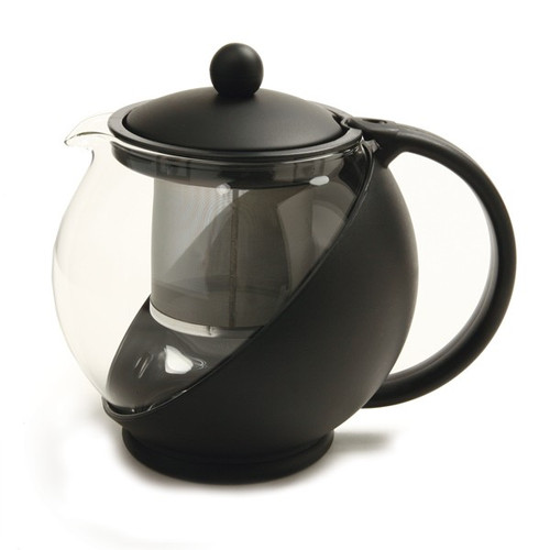 Norpro 861E Eclipse Teapot, 40 oz., with Stainless Mesh Filter