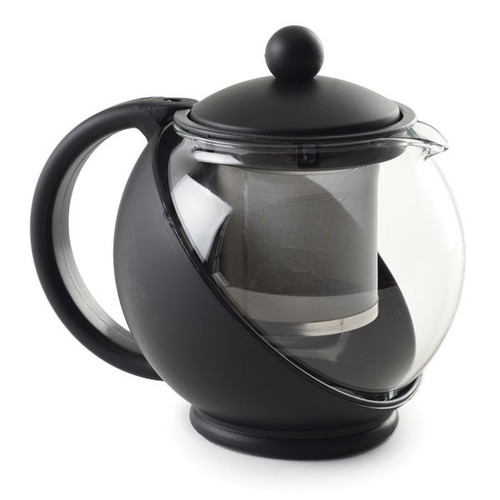 Norpro 821E Eclipse Teapot, 20 oz., with Stainless Mesh Filter