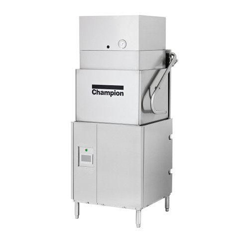 Champion DH-6000-VHR Ventless Heat Recovery High Temperature Tall Hood-type Dishwashing Machine
