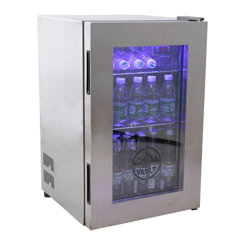 "Vault VBB-2.6 18.9"" Beer Cooler, 2.6 Cu/Ft"