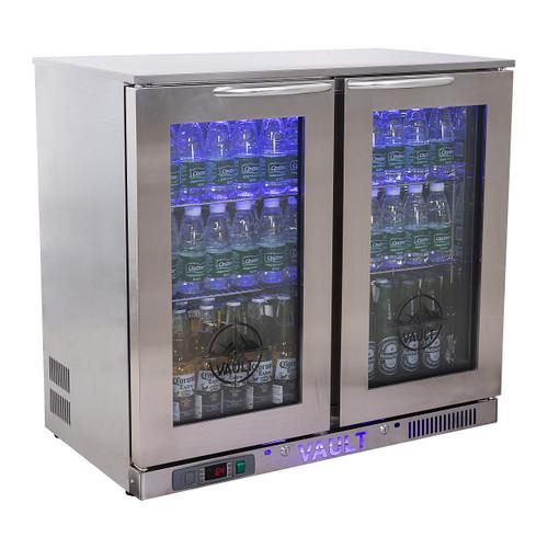 "Vault VBB-7.3 35.4"" Beer Cooler, 7.3 Cu/Ft"