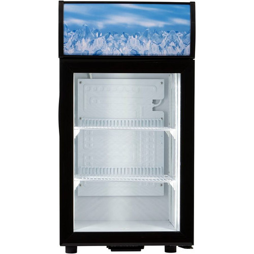 Adcraft CDRF-1D/1.5 Countertop Display Refrigerator, 1.5 Cu/Ft