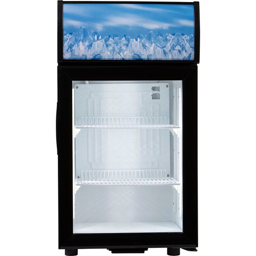 Adcraft CDRF-1D/2 Countertop Display Refrigerator, 2 Cu/Ft