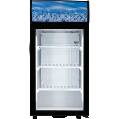 Adcraft CDRF-1D/2.7 Countertop Display Refrigerator, 2.7 Cu/Ft