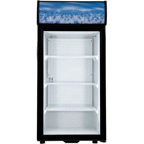 Adcraft CDRF-1D/4 Countertop Display Refrigerator, 4.2 Cu/Ft