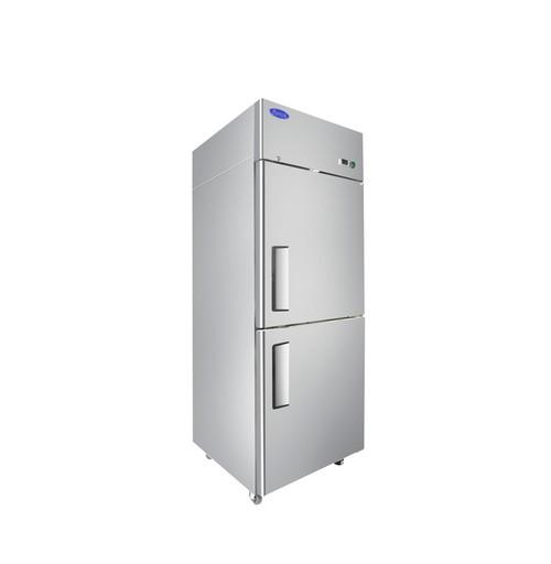 Atosa MBF8010GR Top Mount Refrigerator, Half Door