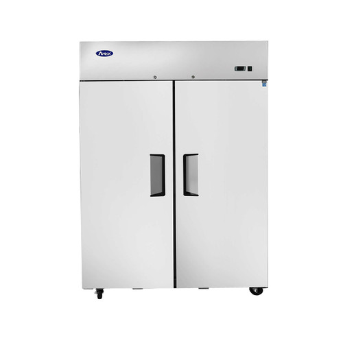 "Atosa MBF8002GR 52"" Upright Freezer Top Mount (2) Two Door, 43.2 Cu/Ft"