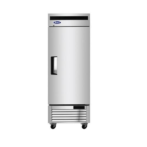 "Atosa MBF8505GR 27"" Bottom Mount Refrigerator, (1) One Door, 19 Cu/Ft"
