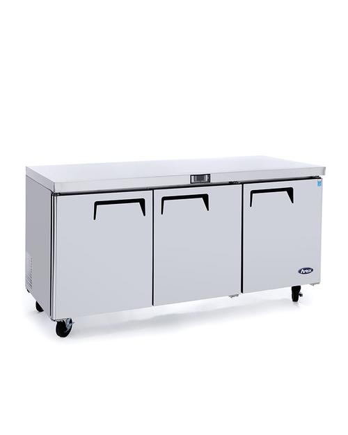 "Atosa MGF8404GR 72"" Undercounter Refrigerator"