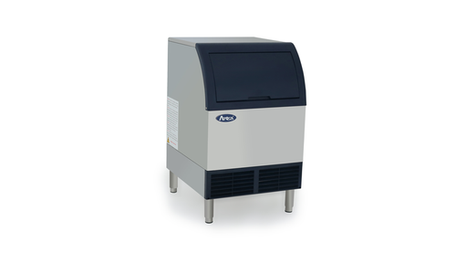 Atosa YR140-AP-161 Ice Machine with Built-In Ice Bin, 142 lbs/day