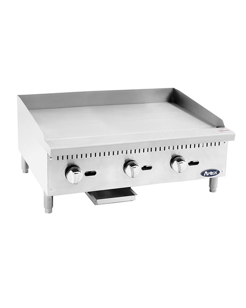 """Atosa ATMG-36 Heavy Duty 36"""" Manual Griddle"""