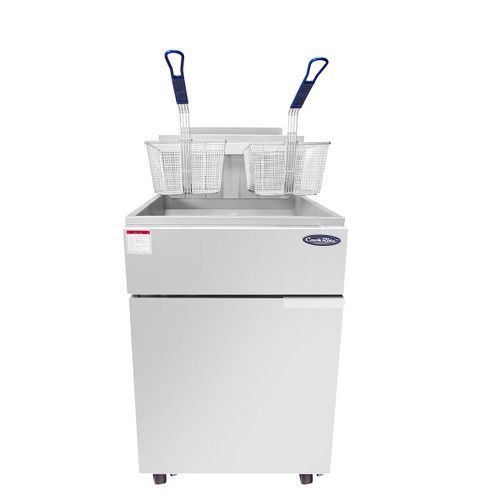 Atosa ATFS-75 Heavy Duty 75lb Commercial Deep Fryer