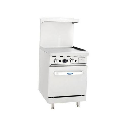 Atosa ATO-24G Gas Range with Griddle Tops