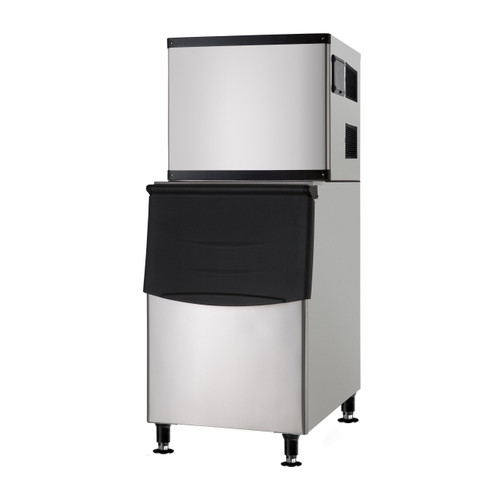 Adcraft LIIM-500 Lunar Ice Ice Machine with Bin - 500lbs/24hrs