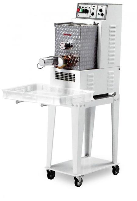 Omcan PM-IT-0008 Floor Model Heavy-Duty Pasta Machine with 8.8 lbs. Tank Capacity - 0.75 HP