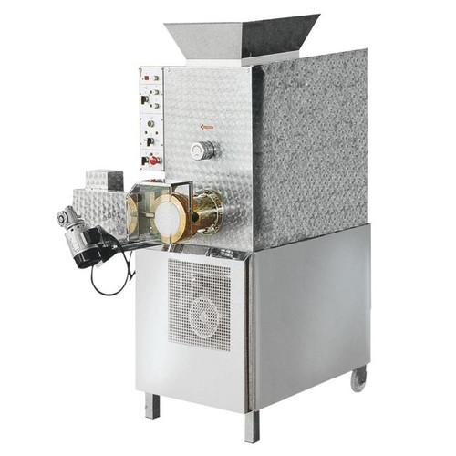 Omcan PM-IT-0080 Floor Model Heavy-Duty Pasta Machine with 110 lbs. Tank Capacity - 5.5 HP