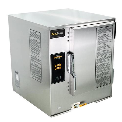 AccuTemp N61201E060 Countertop Natural Gas Convection Steamer, 6 Pan