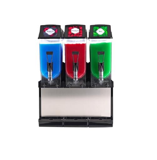 Ampto FROSTY 3 Frozen Drink, Slush, Granita Machine - 3 Bowls