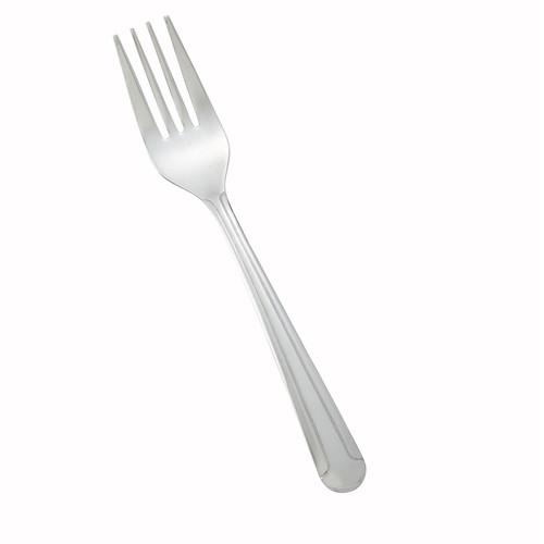"Winco 0001-06 Dominion Salad Fork, 6-1/8"", Medium Weight - 12/Box"