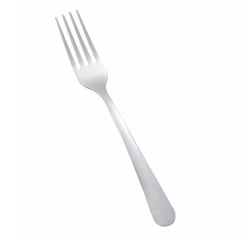 "Winco 0002-05 Windsor Dinner Fork, 7"", Medium Weight - 12/Box"