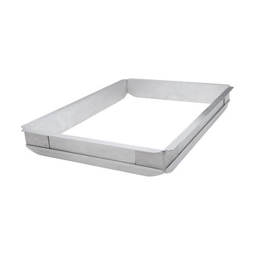 """Winco AXPE-1 Full Size Aluminum Sheet Pan Extender - 18"""" x 26"""" x 2"""""""