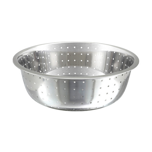 Winco CCOD-15L Chinese Style Stainless Steel Colanders - 13 3/4 Qt.
